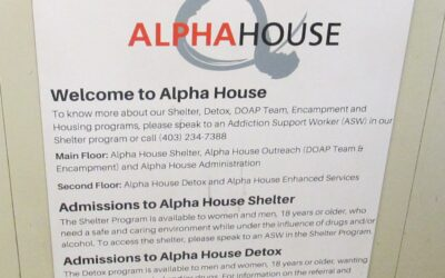 Service at Alpha House